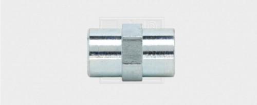 Bremsleitungsverbinder M10x1 / 24, Bördel F