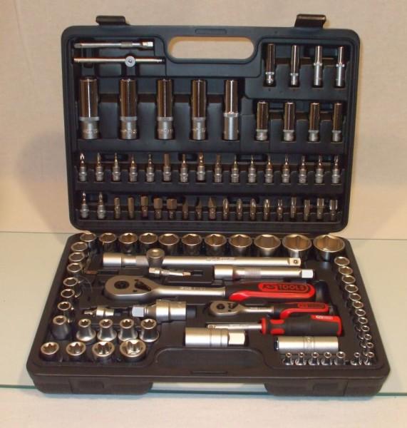 """KS Tools Steckschlüsselsatz 108-tlg. 1/2"""" und 1/4"""""""