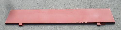Rückwand THK 5 (Original) 400 mm hoch