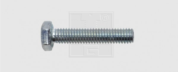 Sechskantschraube M10 x 80 8.8 verzinkt DIN 933