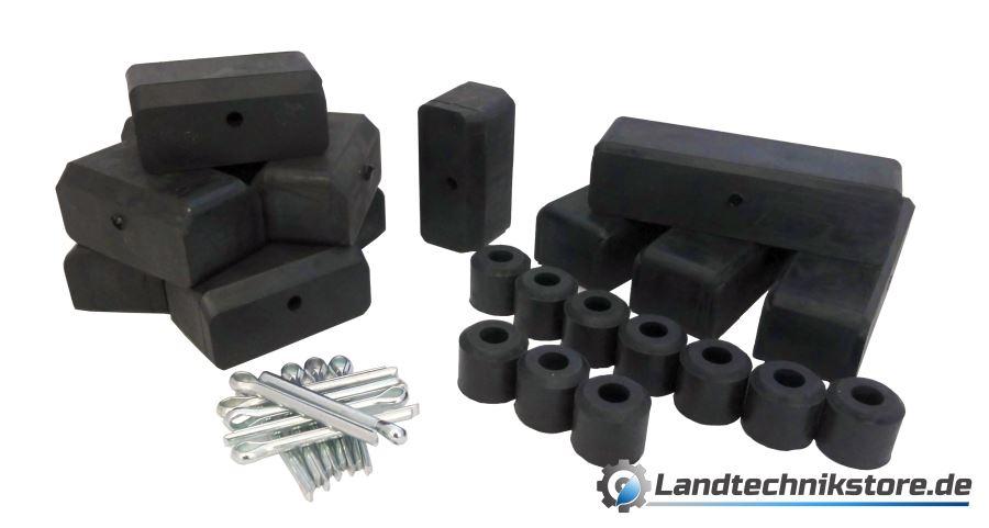 YARNOW 1 Paar T/ürstopper aus Zinklegierung Ersatzteil Schwerer Gummierter T/ürstoppkeil f/ür Schiebet/ürschienen