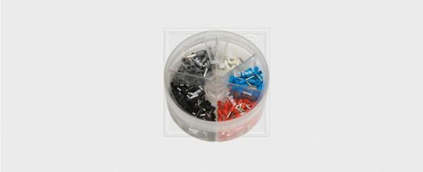Aderendhülsen Sortimentsbox isoliert 400-teilig